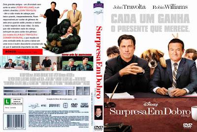 Filme Surpresa Em Dobro (Old Dogs) DVD Capa