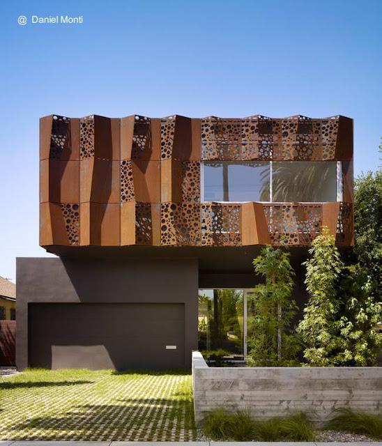 Residencia contemporánea de dos plantas en Venice, California, Estados Unidos