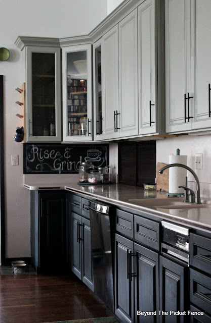 Beyond The Picket Fence Painting Cupboards With Fusion Mineral Paint