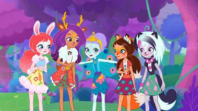 Grupo de garotas usa magia e habilidades de animais para zelar por floresta - Divulgação