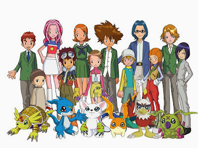 Poster Digimon Adventure 02
