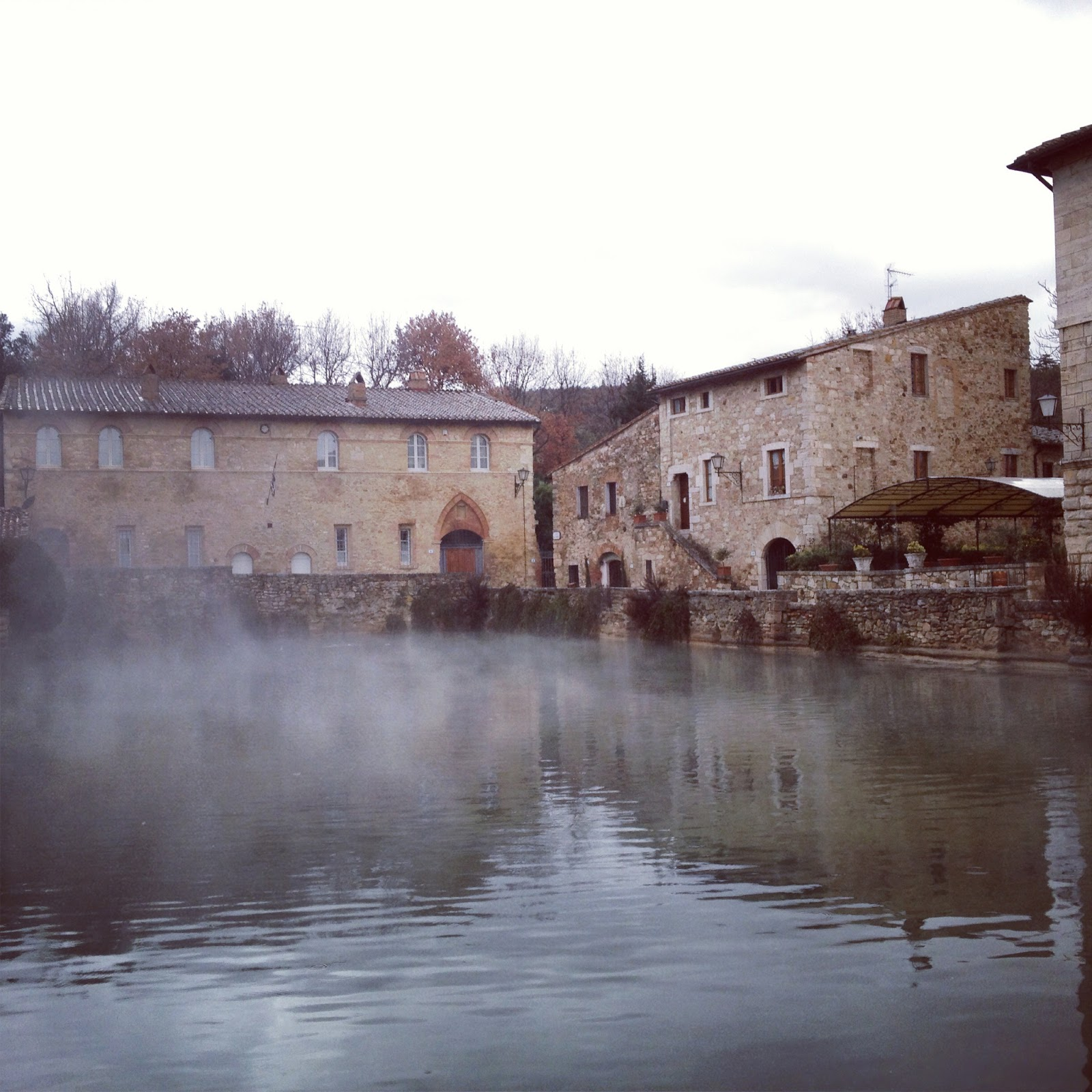 Bagno Vignoni Thermal Baths in Tuscany