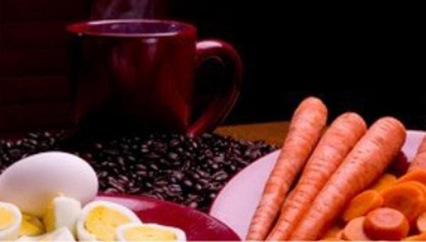 wortel telur kopi