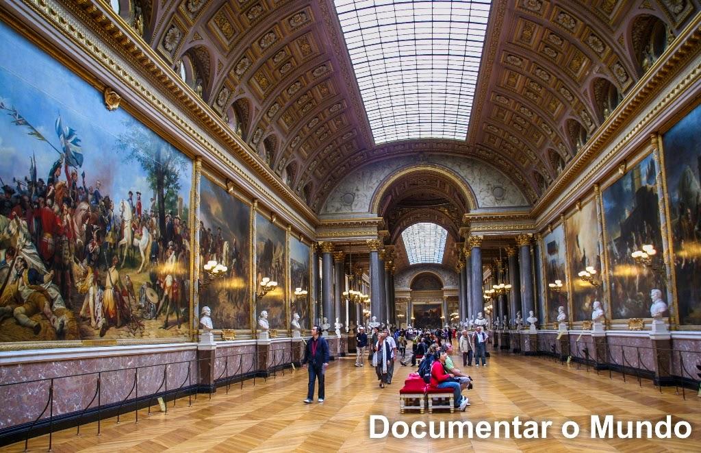 Galeria das Batalhas; Galerie des Batailles; Palácio de Versalhes; Château de Versailles;