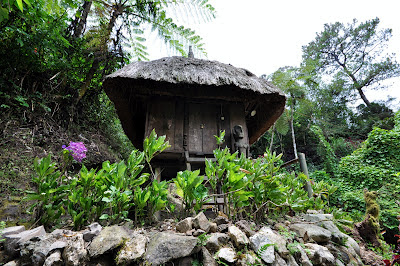 One of the Nipa huts inside Tam-awan Village that can be rented for over night.