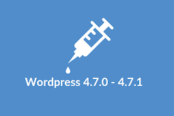 Exploit WordPress 4.7.0 - 4.7.1 Content Injection