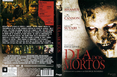 Filme Dia dos Mortos 2008 (Day of the Dead) DVD Capa