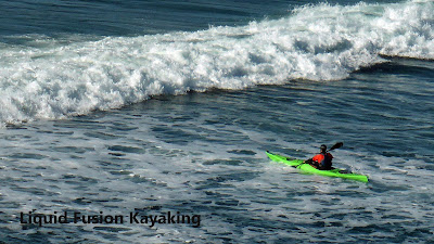 sea kayak surf
