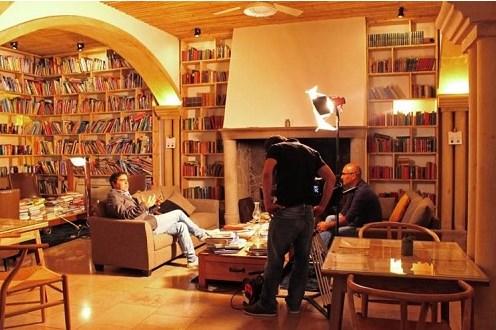 perpustakaan, kutu buku, hotel perpustakaan, hotel travelling