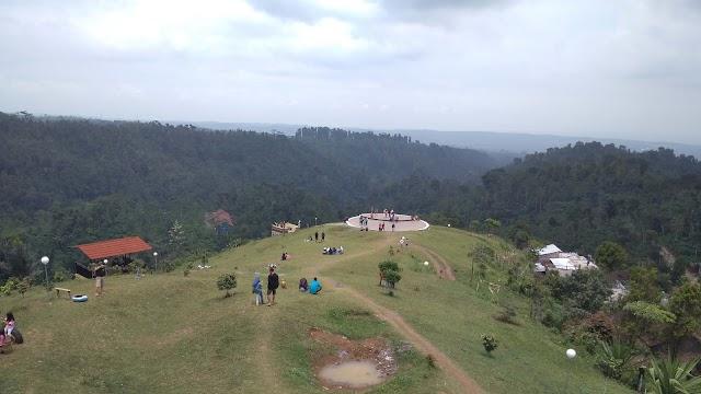 Serunya Berlari-larian di Bukit Kembang Arum Temanggung