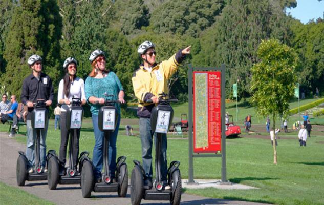 Informações sobre o Golden Gate Park em San Francisco