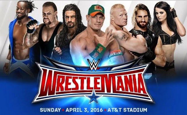 WWE Wrestlemania Live Streaming 2016