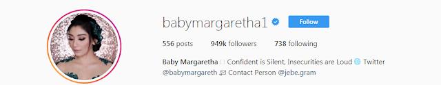 Baby Margaretha Instagram