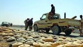 Dalam 20 Bulan Pemberontak Syiah Houthi Sebarkan 1/4 Juta Ranjau Darat Di Yaman
