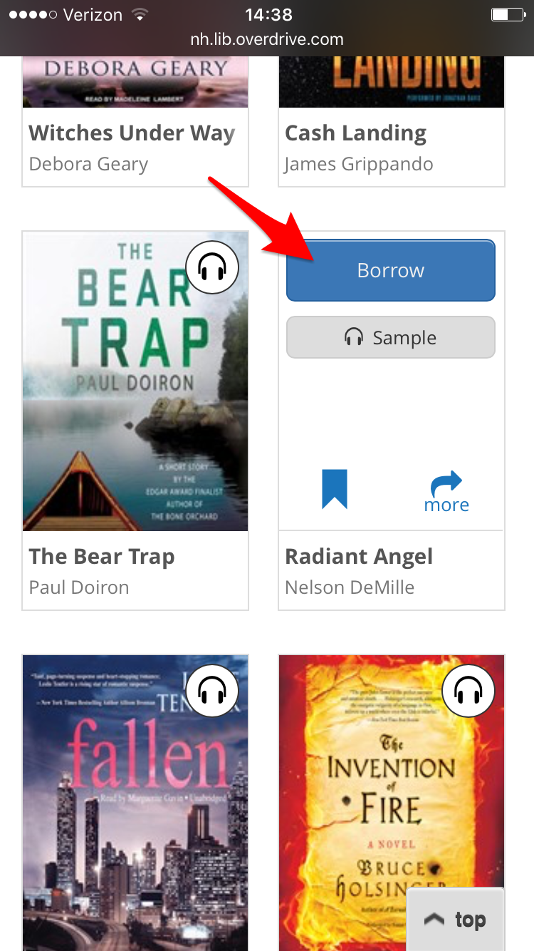 NH Downloadable Books: Navigating the New OverDrive App for