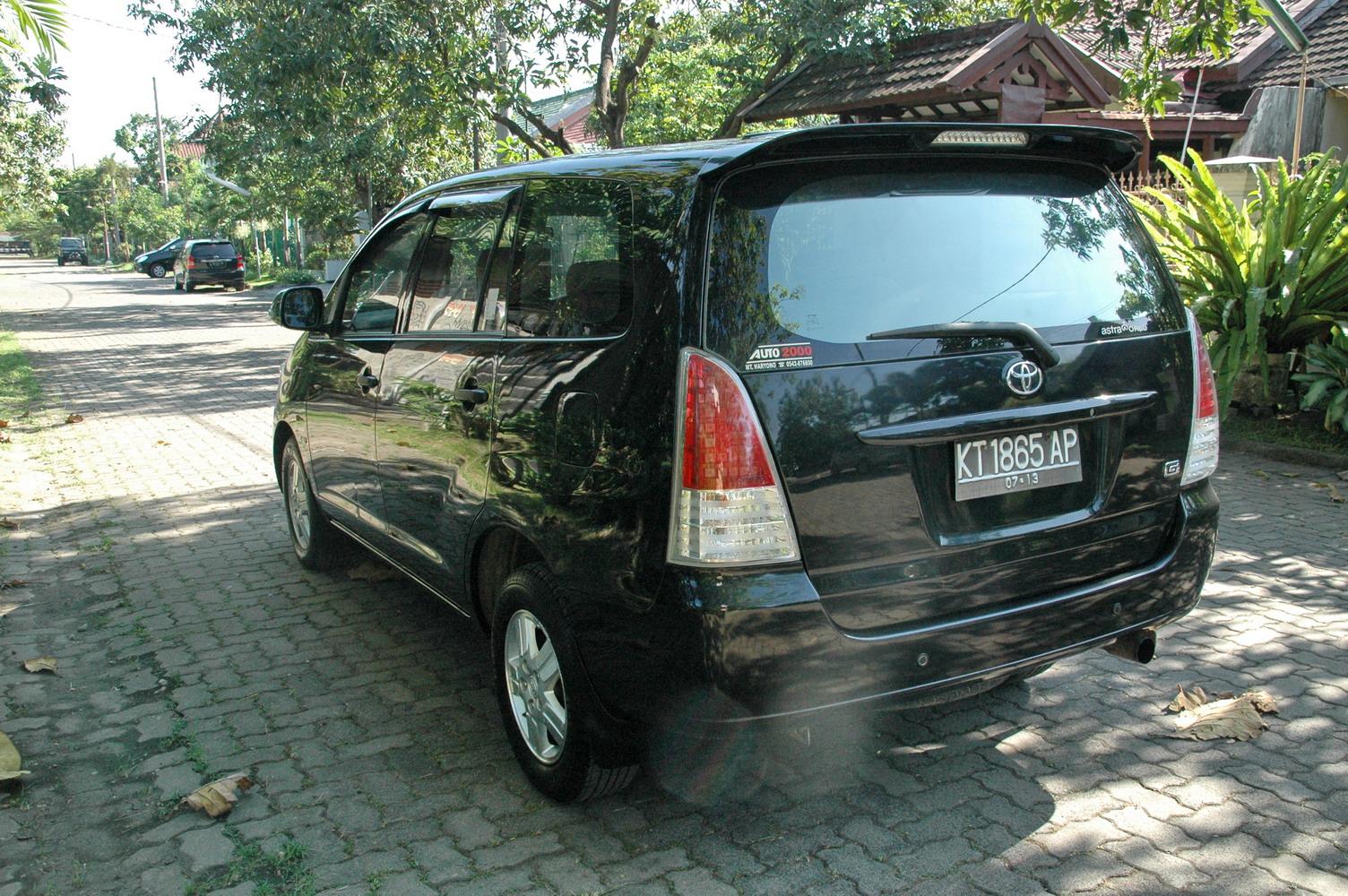 pajak tahunan all new kijang innova tipe automoda toyota g diesel 2008