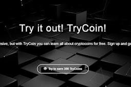 Review: TryCoin Cryptocurrency Baru. Dapatkan Giveaway 5 TCO saat Mendaftar