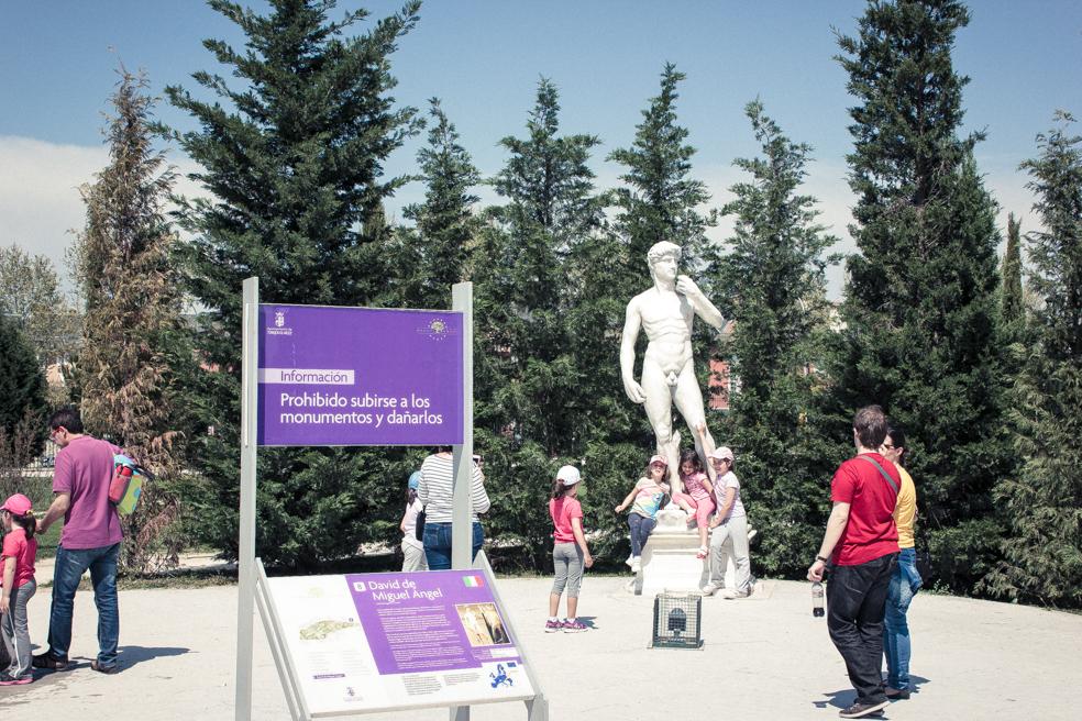 Estatua Parque Europa, Torrejón, Madrid 2014