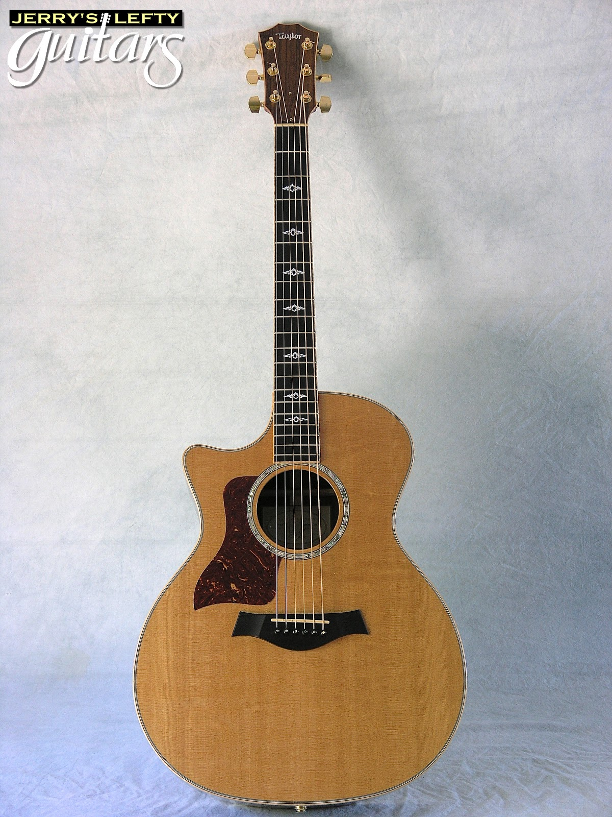 jerry 39 s lefty guitars newest guitar arrivals updated weekly 2007 taylor 814ce used left. Black Bedroom Furniture Sets. Home Design Ideas