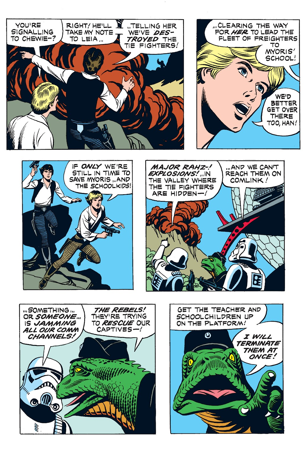 Read online Star Wars Legends: The Newspaper Strips - Epic Collection comic -  Issue # TPB (Part 3) - 20