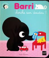 Détail couverture Barri cherche son doudou!