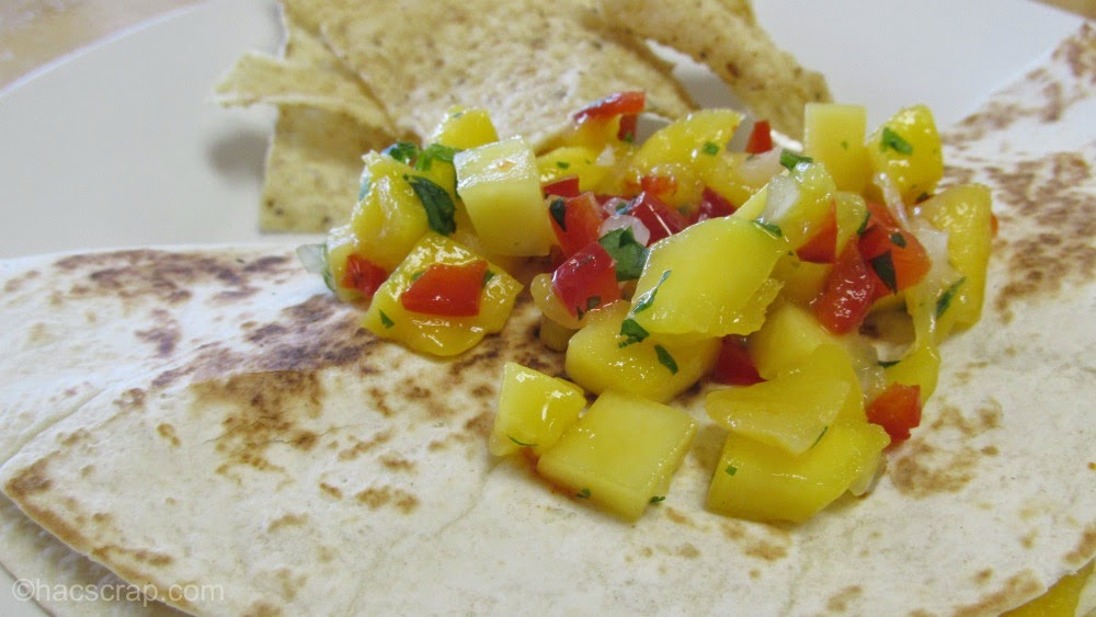 Cinco de Mango Quesadillas