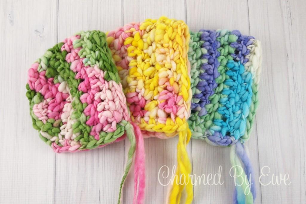Fiber Flux: Beautiful Baby Bonnets...15 Free Crochet Patterns!