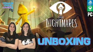 Unboxing Little Nightmares Six Edition