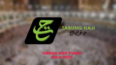 Harga Bayaran Kos Tunai Haji Terkini Tahun 2019