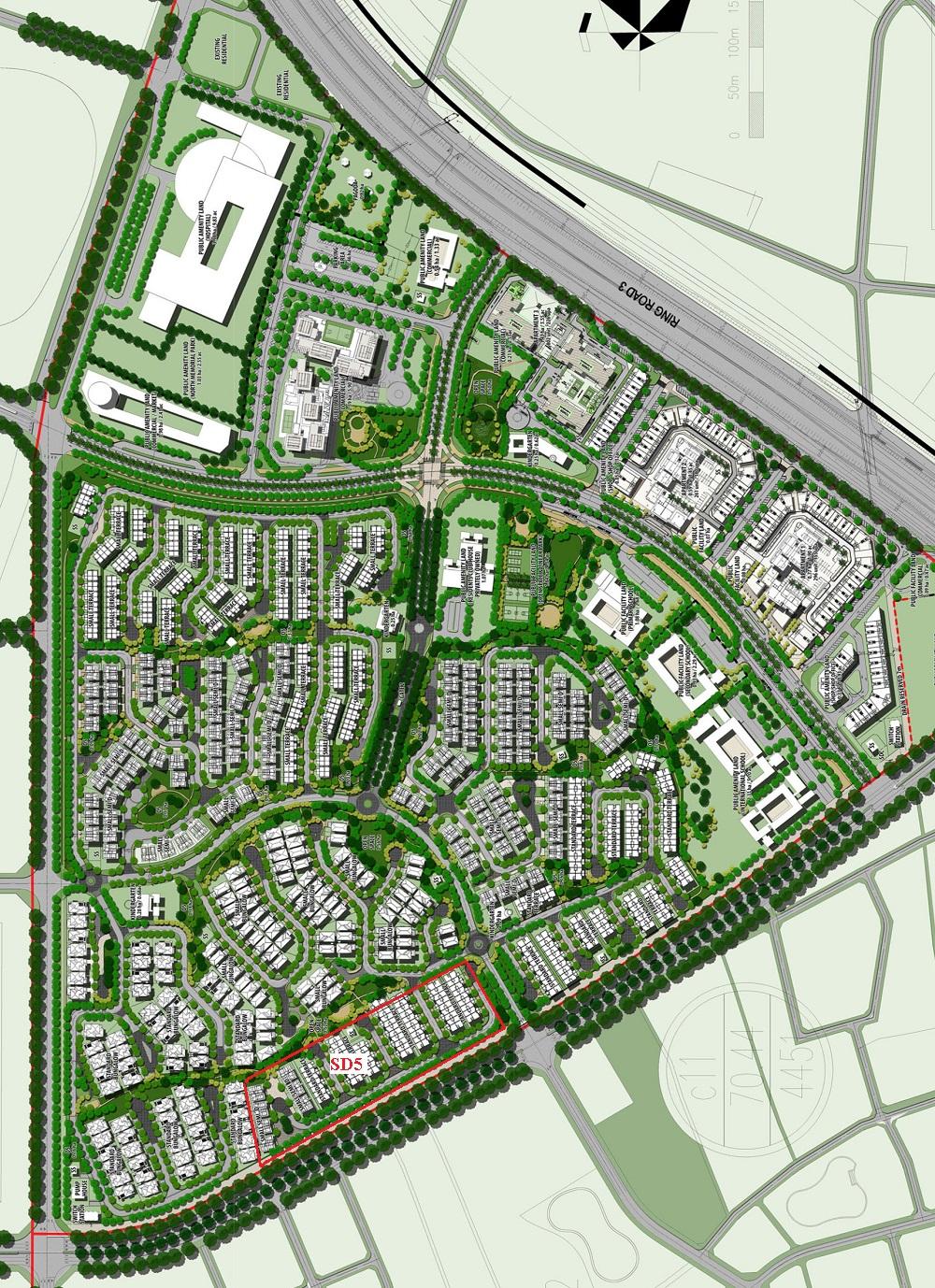 Quy hoạch dự án Gamuda Gardens