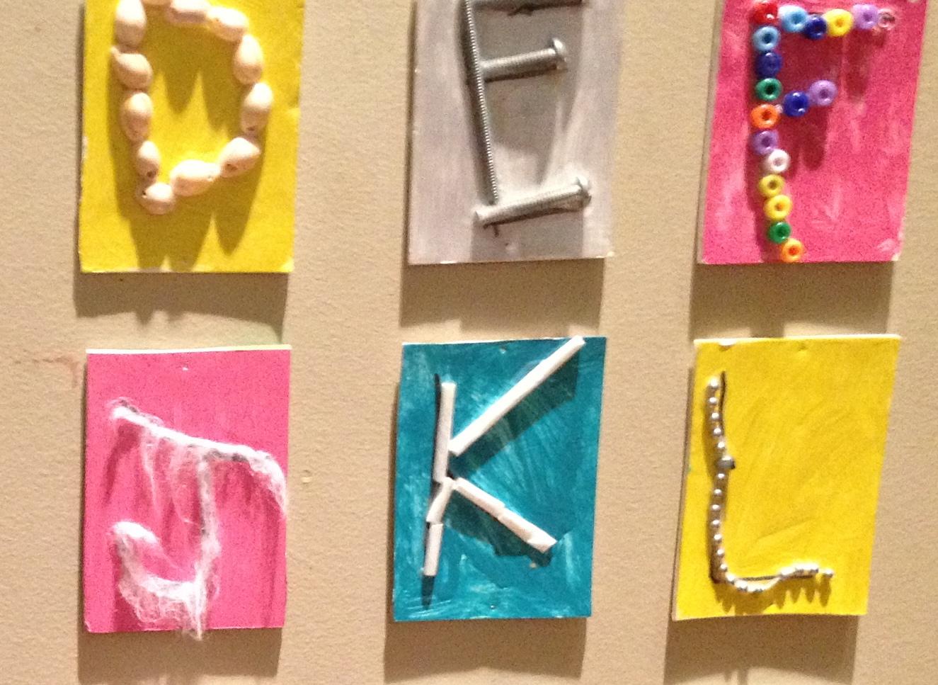 Reggio Inspired The Alphabet