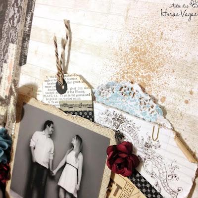 scrap scrapbook scrapbooking love casamento romântico lyric prima marketing wedding delicado flores