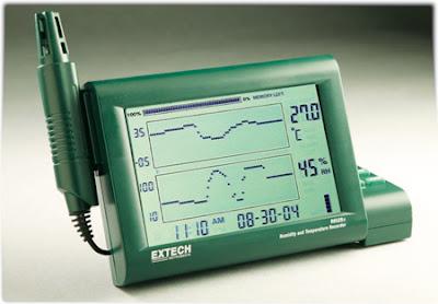 Jual Extech RH-520 Humidity Temperature Chart Recorder