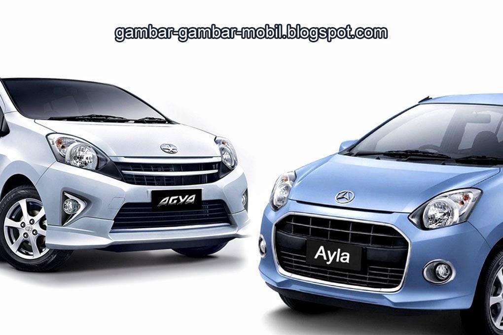 Gambar Mobil Agya Tabrakan