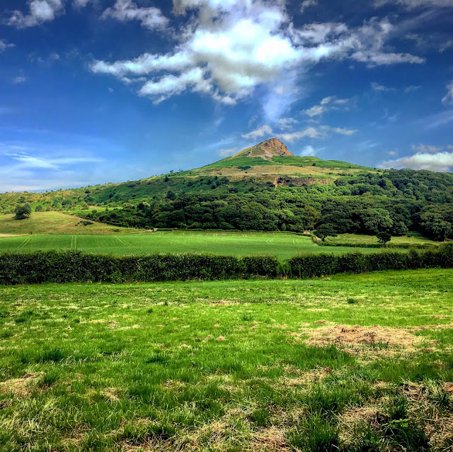 Roseberry Topping from the Kingshead Inn, Yorkshire