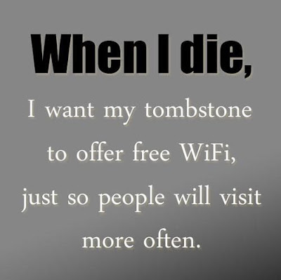 Funny Picture - When I Die