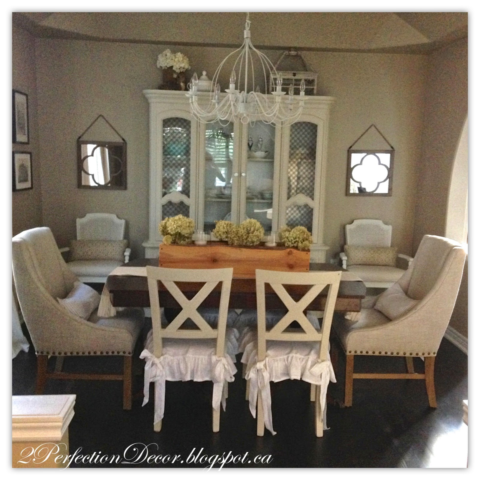 2Perfection Decor Our Dining Room Reveal
