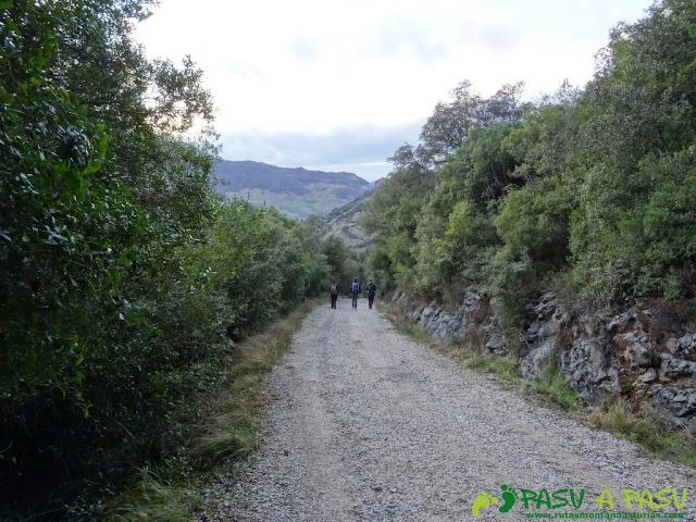 Sierra de Juan Robre: Pista de las Cabañas de Charás a Arenas de Cabrales