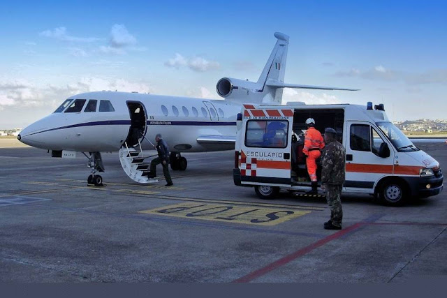 Volo sanitario aeronautica militare