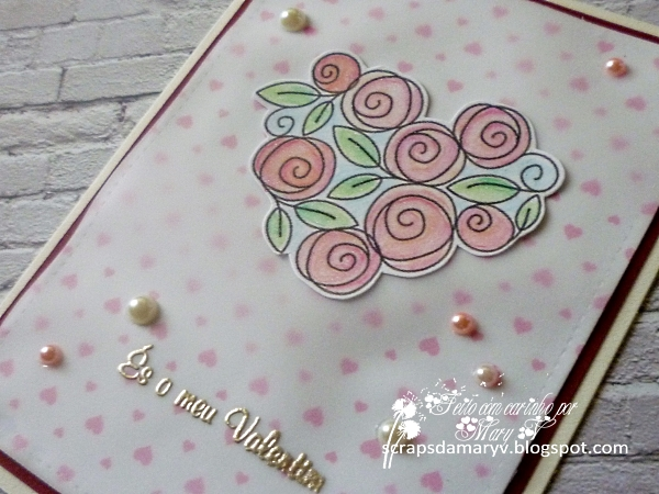 Roses for You stamp set, Simon Says Stamp