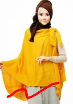 Contoh model baju atasan dari kain sifon