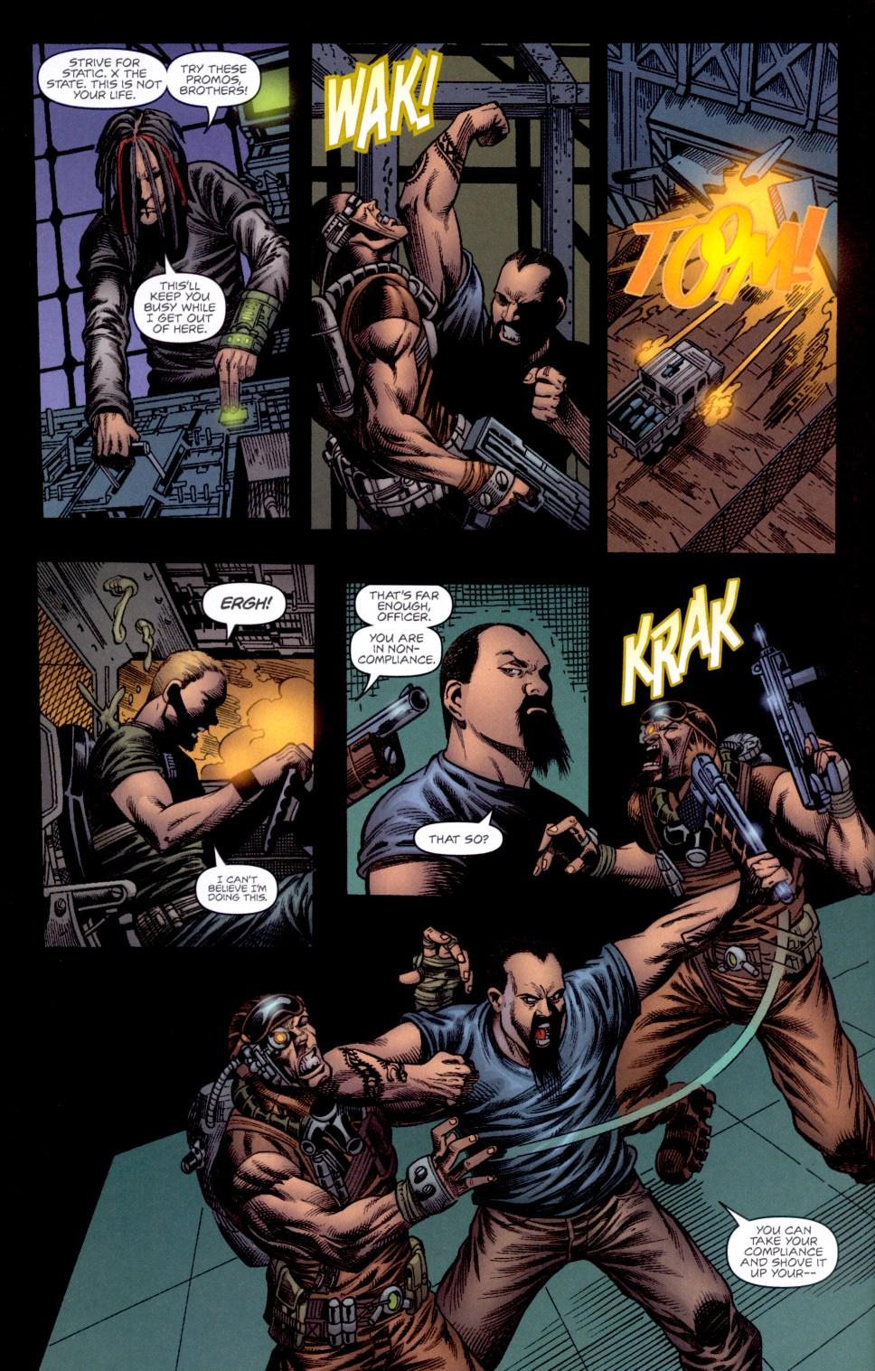 Read online Static-X: Machine comic -  Issue # Full - 11