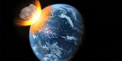 Asteroid menghantam bumi