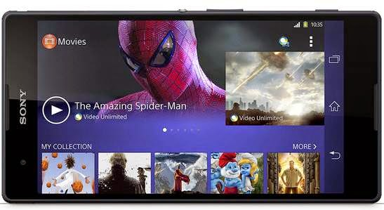 Layar Sony Xperia T2 Ultra dual