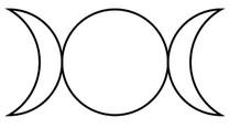Triple diosa wicca simbolo significado
