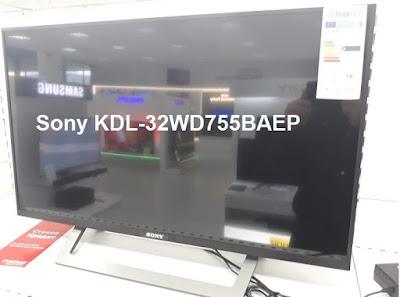Sony KDL-32WD755BAEP TV test