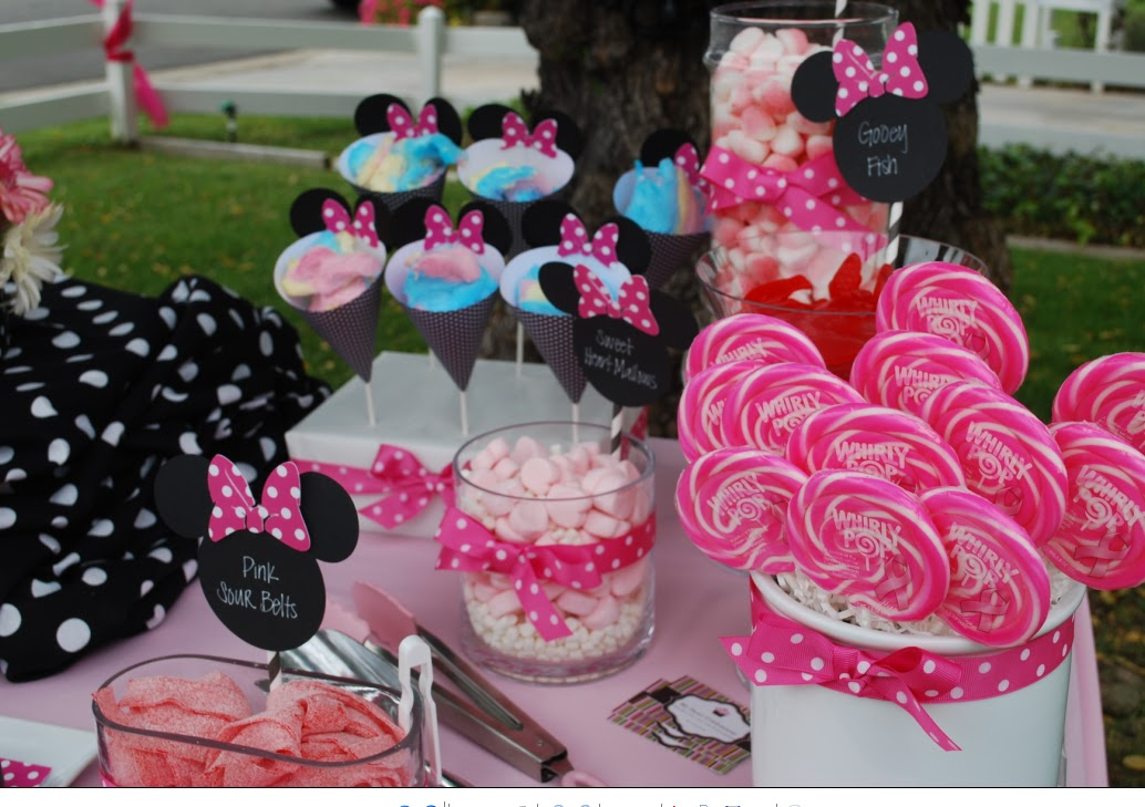 My Sweet Celebrations Minnie Mouse 1st Birthday