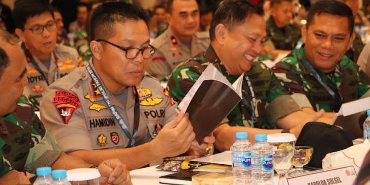 Irjen Pol Hamidin Hadiri Rapim TNI-Polri 2019 di Jakarta