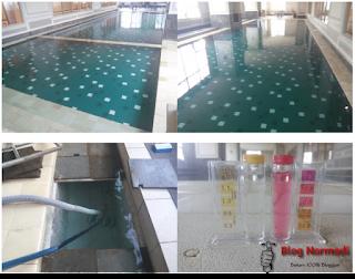 Desain kolam renang minimalis indoor