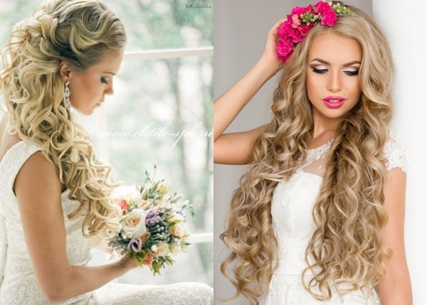 Wedding Hairstyle with Permanent Waves 10